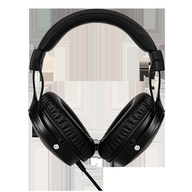 FOURZE GH350 RGB gaming headset produktbillede set bagfra