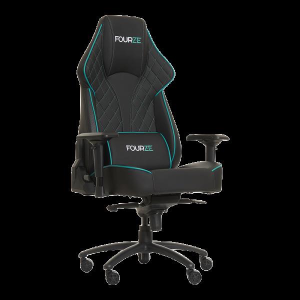 FOURZE Select Gaming stol. Vist med inkluderet lændepude.